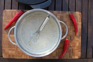 Mehlschwitze für Mac and cheese