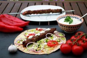 Adana Kebab im Fladenbrot