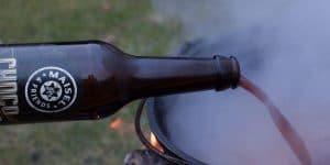 Dunkles Bier für Chili con Carne