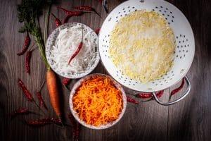 schnelles Kimchi Gemüse