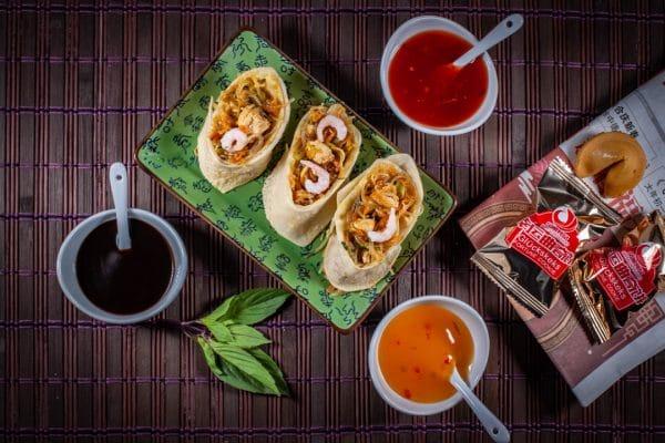 asiatische Pfannkuchen