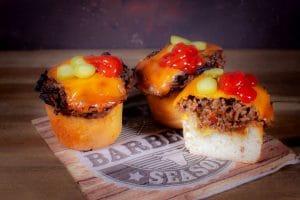 Cheeseburger-Muffins