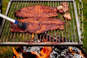BBQ Schweinefilet mit Cajun Reis von der Feuerbrücke