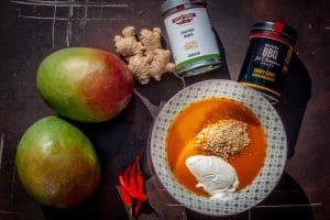 Chutney mit Mango zubereiten