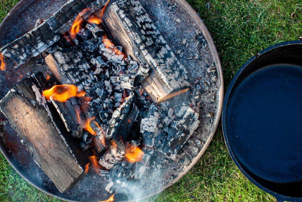 Feuerschale für den Dutch Oven