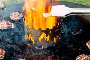 Räucherchips Feuerplatte