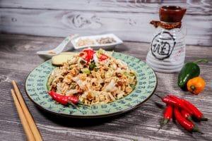 asiatischer Ramen Salat