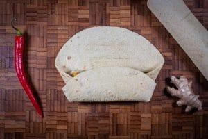 Jackfruit Burritos falten