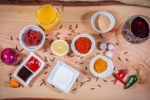 Currywurst-Pfanne Zutaten