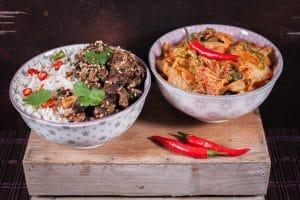 Bulgogi mit Kimchi