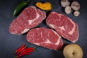 Rib Eye Steak / Entrecote von den Fleischrebellen