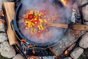 Zubereitung Cabanossi-Suppe