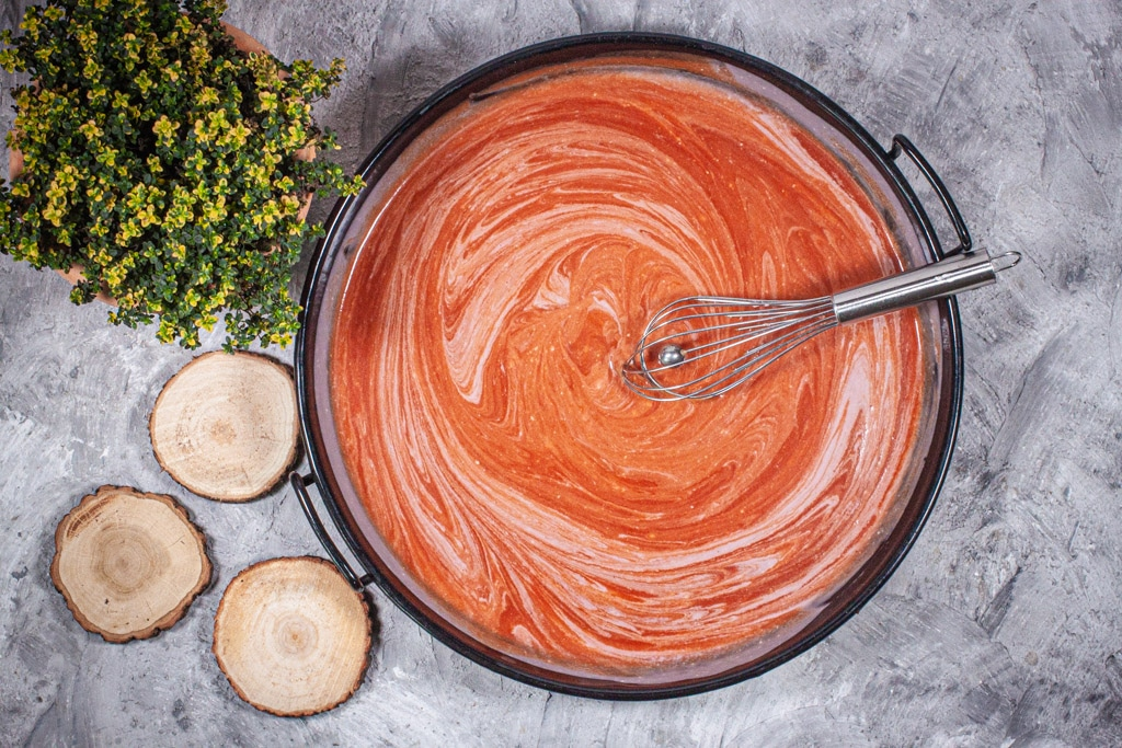 Sauce für die Hähnchenpfanne