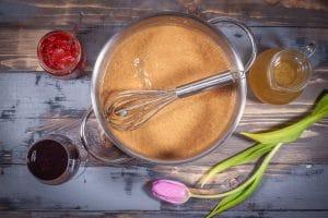 Mehlschwitze für eine Bratensauce