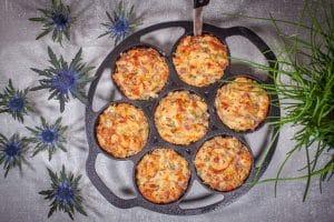 Flammkuchen-Muffin