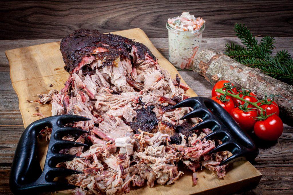 Pulled Pork mit Coleslaw