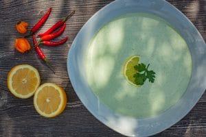 Koriander Sauce mit Joghurt