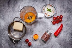 Zutaten für Sauce hollandaise
