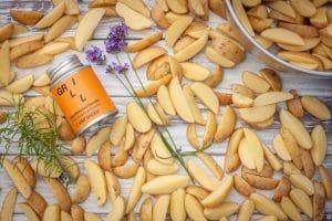 Kartoffelecken roh