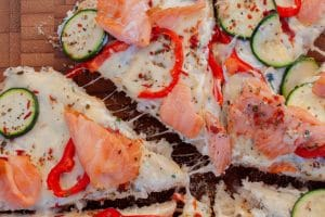 Fladenbrot Pizza