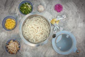 Udon kochen