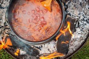 Bauerntopf kochen