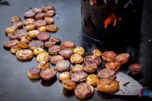 Tapas mit Kartoffeln