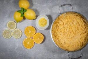 One Pot Pasta im Kochtopf