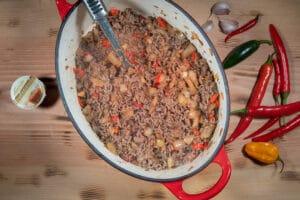 Chili con carne Rinderhackfleisch