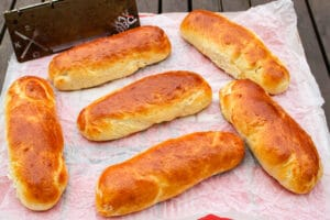 Rezept für Hot Dog Buns