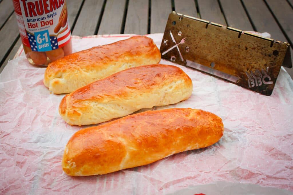 Hot Dog Buns selbst backen