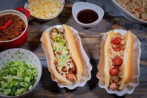 Hot Dog Variationen