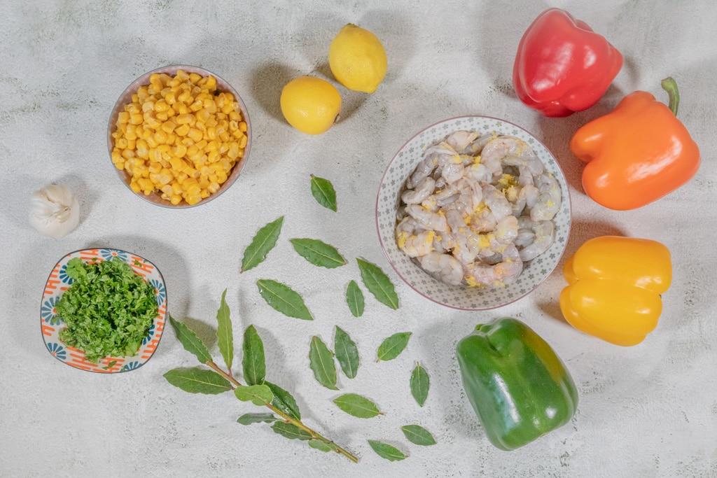 Zutaten für eine Jambalaya