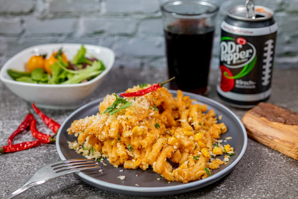 Mac and Cheese mit Cola