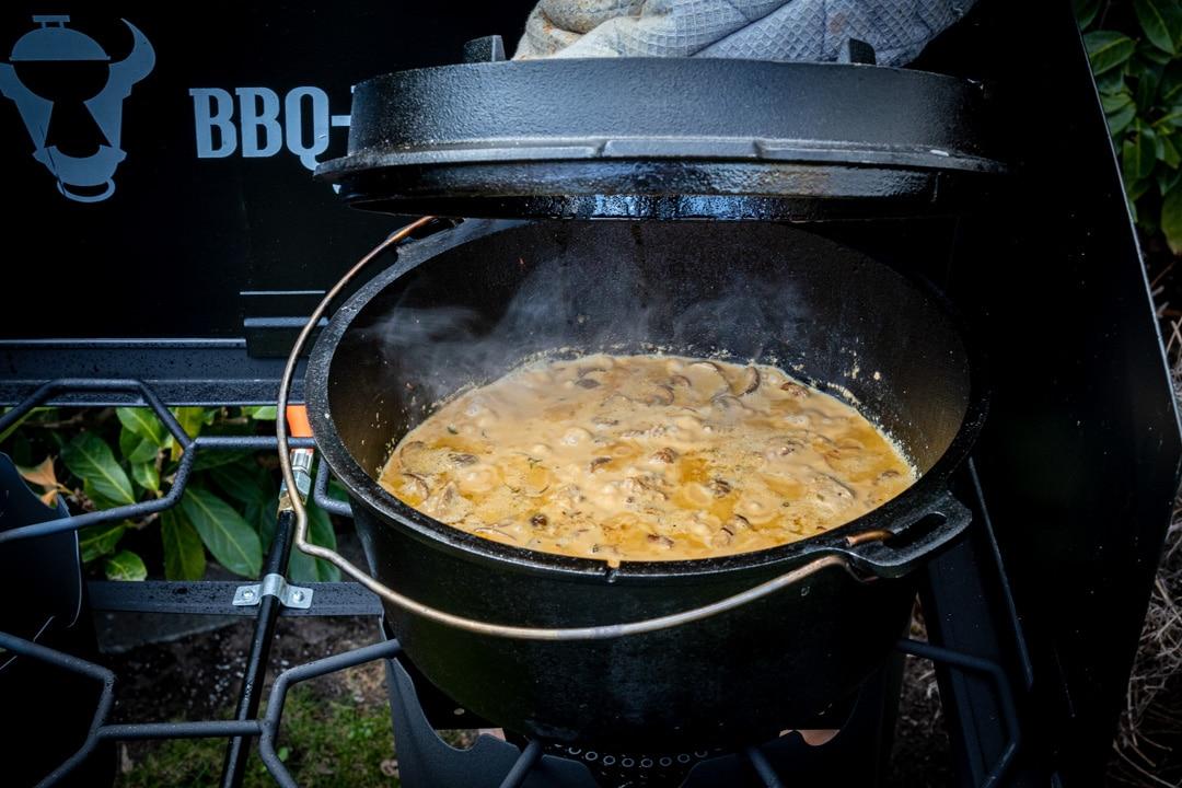 Filettopf aus dem Dutch Oven