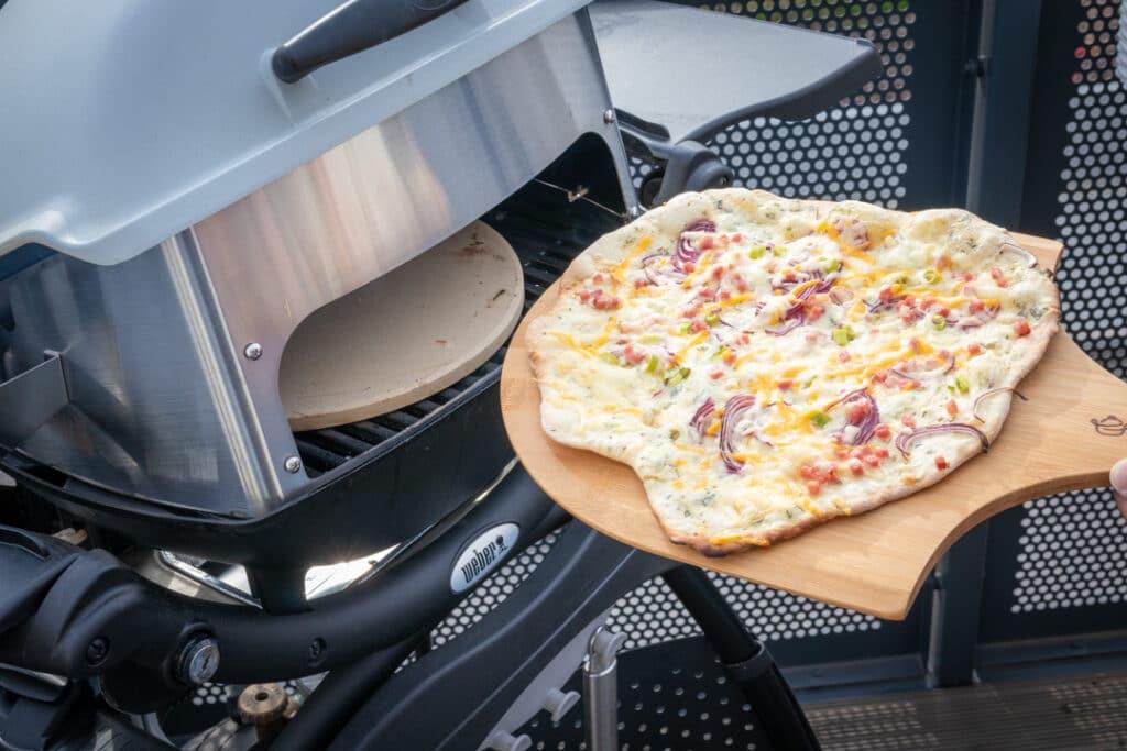 Grillraumerweiterung Pizzastein BBQ Toro