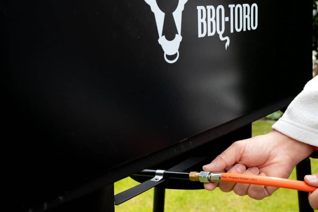Gasanschluss Gas Grilltisch BBQ-Toro