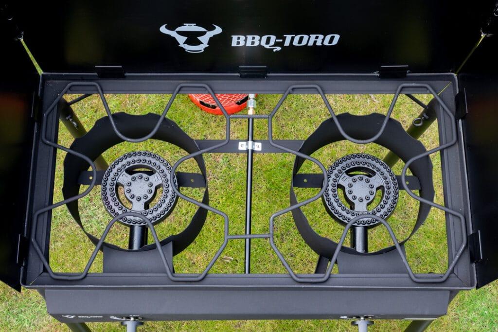 Gas Grilltisch BBQ-Toro mit zwei Brennern