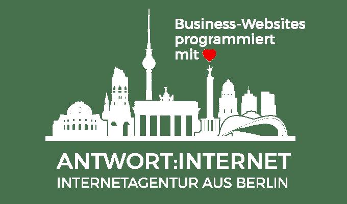 Link zu ANTWORT:INTERNET, Internetagentur aus Berlin