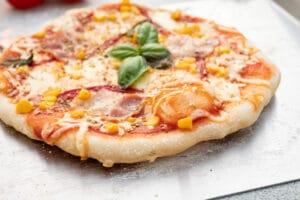 Pizza von der Plancha
